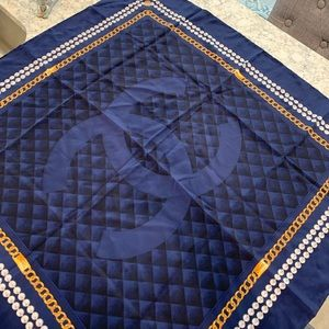 "CHANEL Accessories - Chanel Silk Scarf - Perfection - 34""x35"""